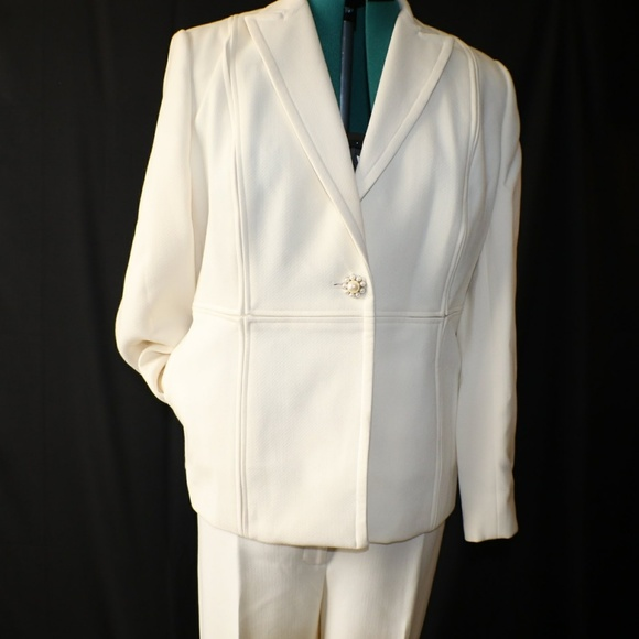 Spiegel Pants Womens Winter White Suit Poshmark
